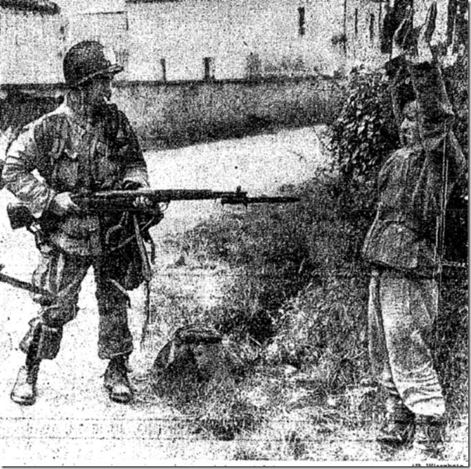 Juen 13, 1944, Surender