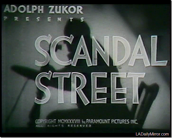 "'Scandal Street"""