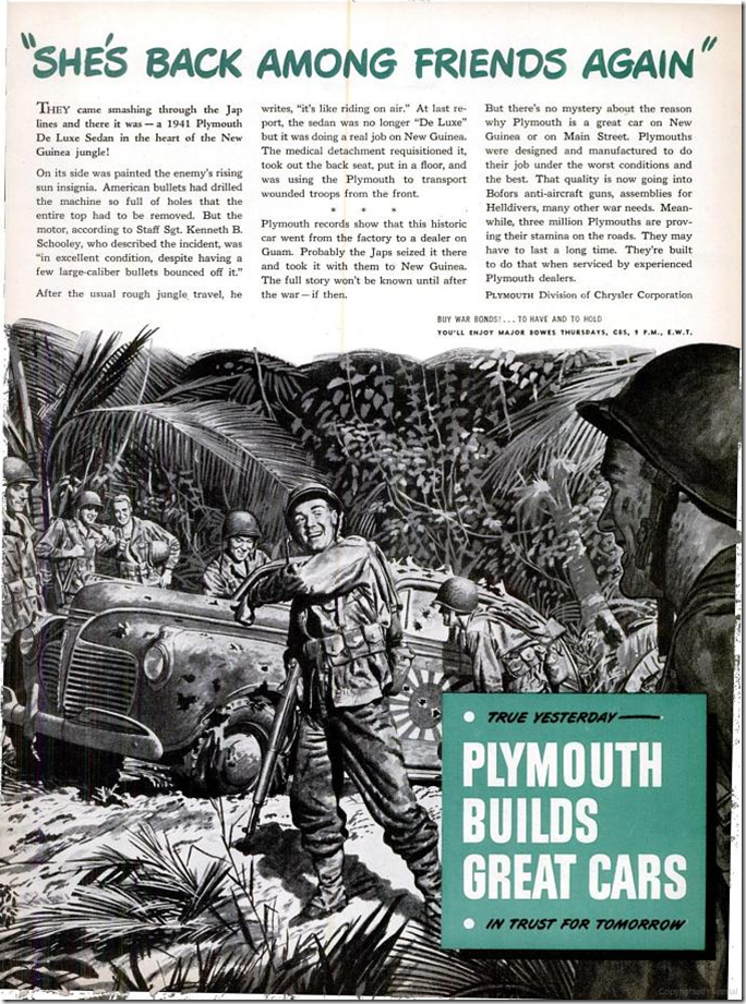 July 17, 1944, Plymouth