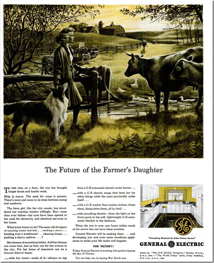 July 24, 1944, Farmer's Daughter