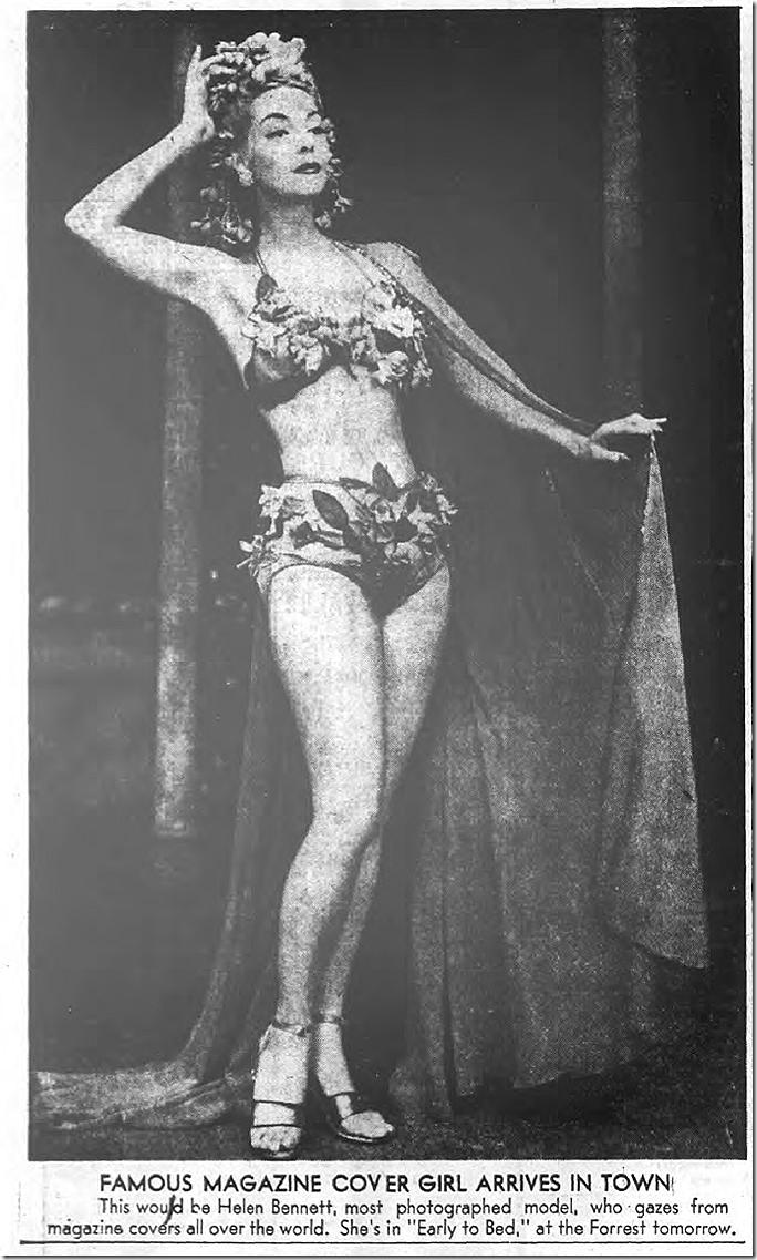 July 30, 1944, Helen Bennett
