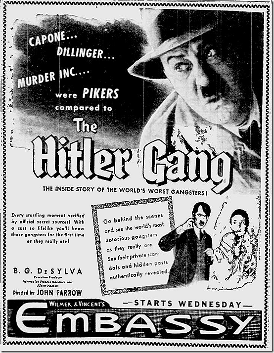 July 9, 1944, Hitler Gang