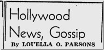July 10, 1944, Louella Parsons