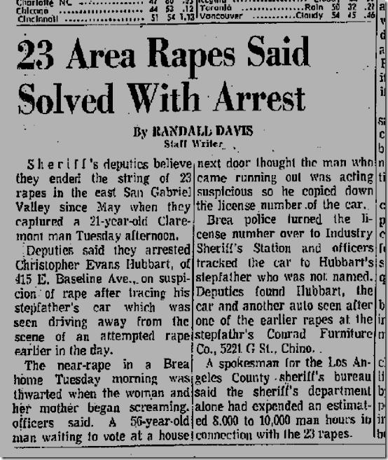Nov. 8, 1972, Christopher Evans Hubbart