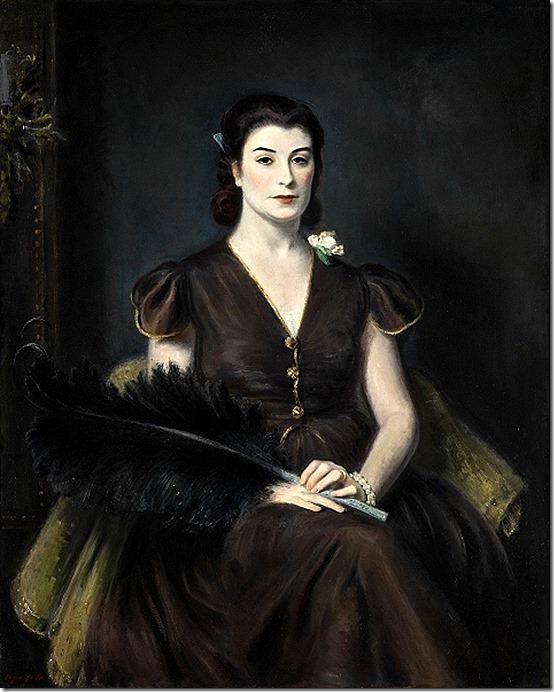 Eugene Speicher Jeanne Balzac