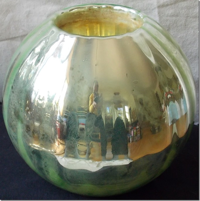 Mercury Glass Vase