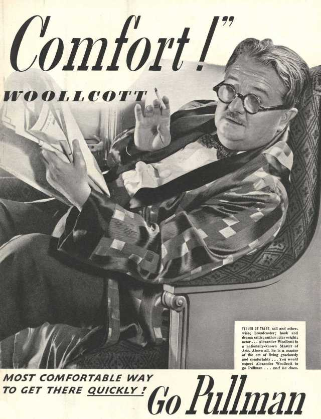 alexander_woollcott_Advertisement_Pullman_crop