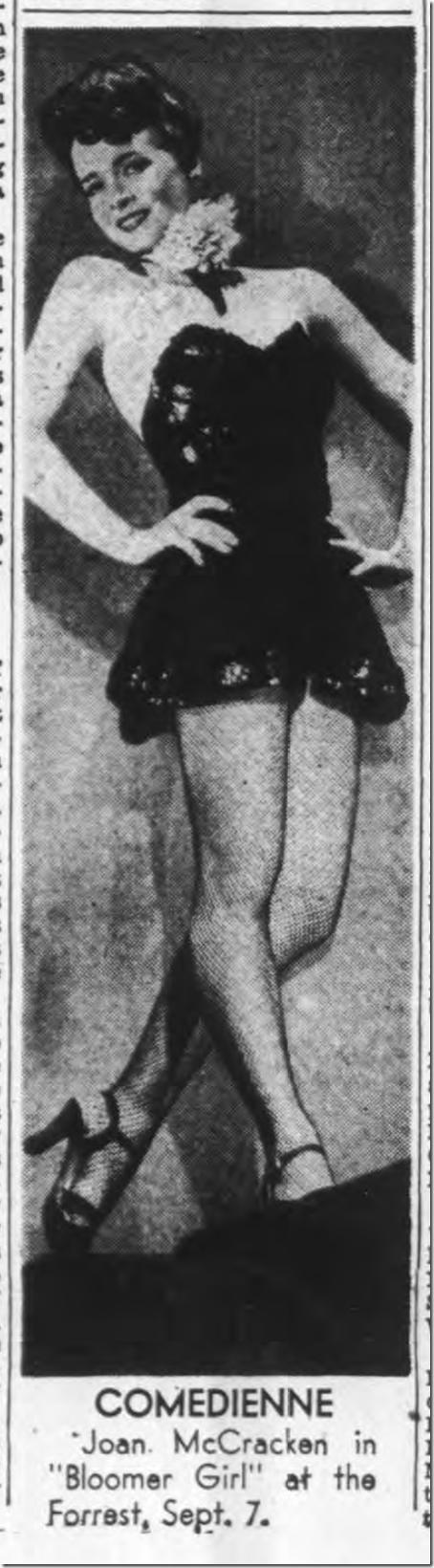 Aug. 27, 1944, Joan McCracken