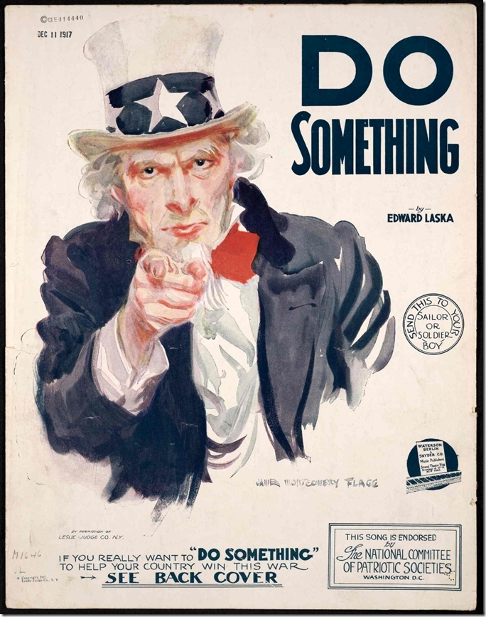 """""""Do Something"""" via the Library of Congress"""