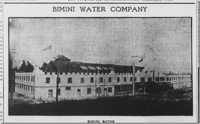 Bimini Baths, Los Angeles Herald