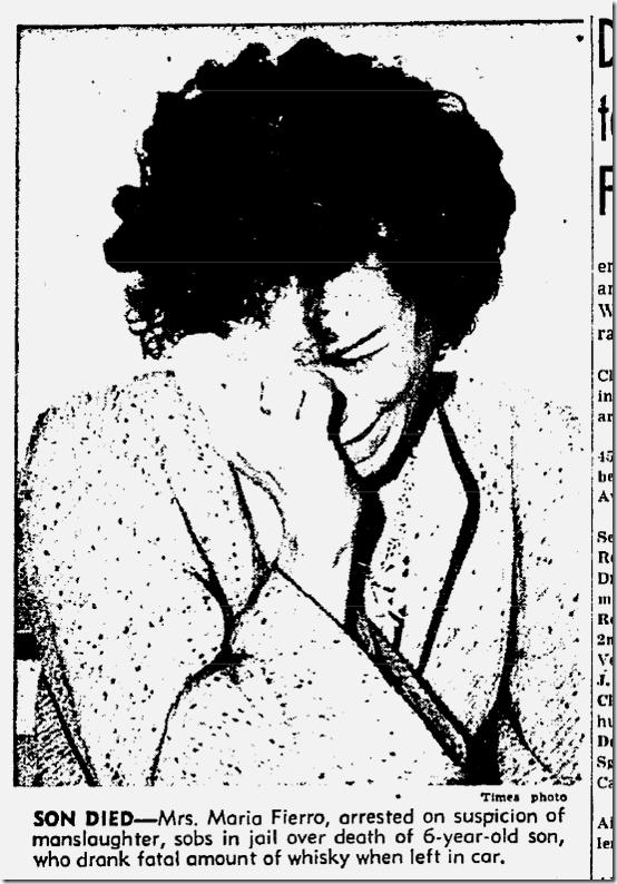 Sept. 5, 1944, Maria Fierro