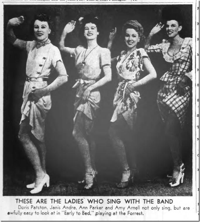 Aug. 6, 1944, Singers