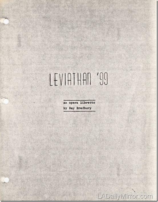Ray Bradbury 'Leviathan '99'