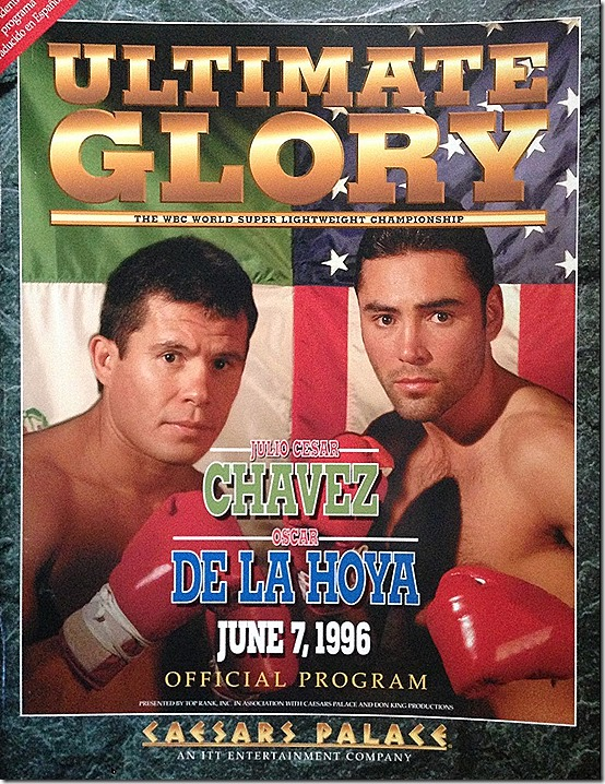 De La Hoya and Chavez Program