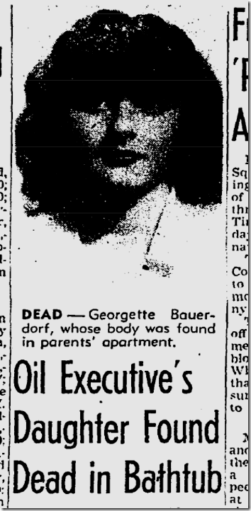 Oct. 13, 1944, Georgette Bauerdorf