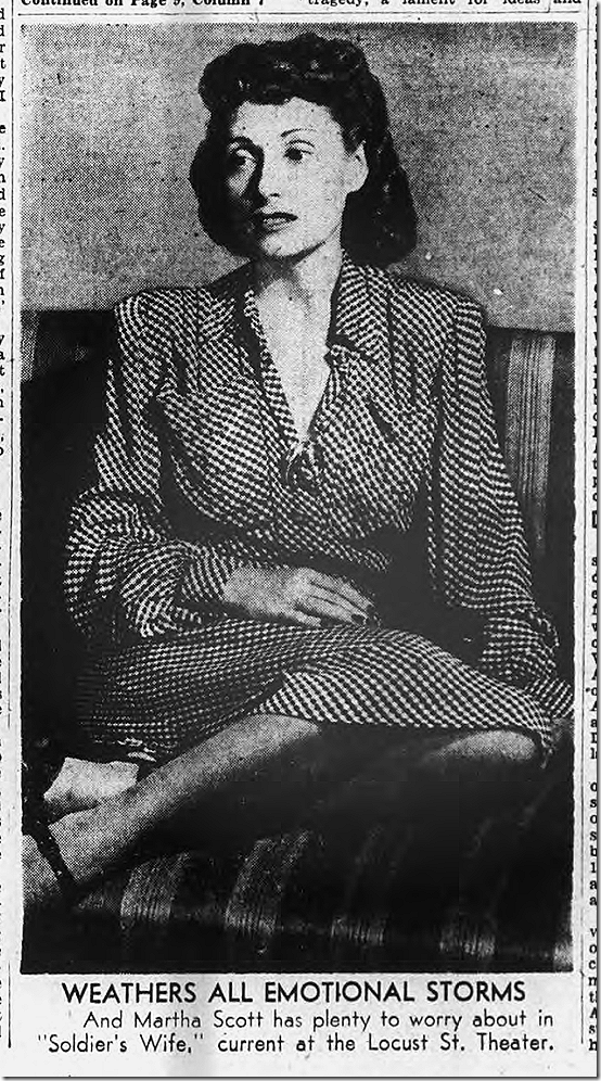 Sept. 10, 1944, Martha Scott