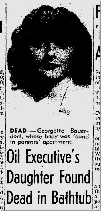Oct. 13, 1944, Georgette Bauerdorf