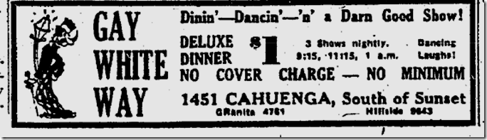Oct. 29, 1938, Gay White Way