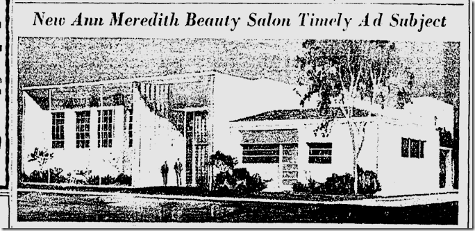 Ann Meredith Beauty Salon, Beverly Hills