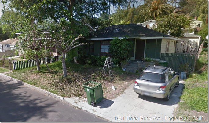 1851 Linda Rose Ave., Eagle Rock