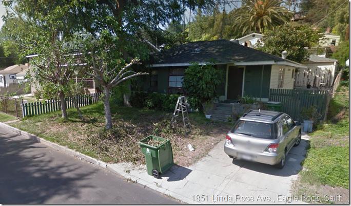 1851 Linda Rose Ave., Eagle Rock