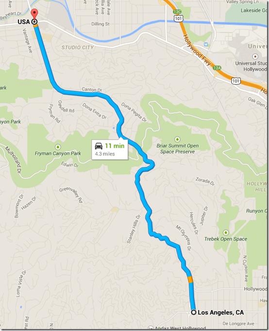 Laurel Canyon to Ventura Boulevard