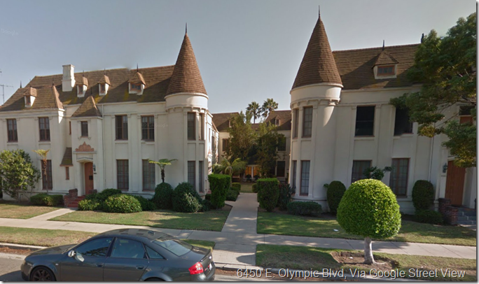 6450 W. Olympic Blvd. Google Street View