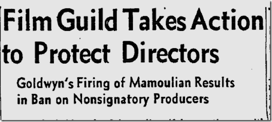 Aug. 4, 1958, Mamoulian Fired
