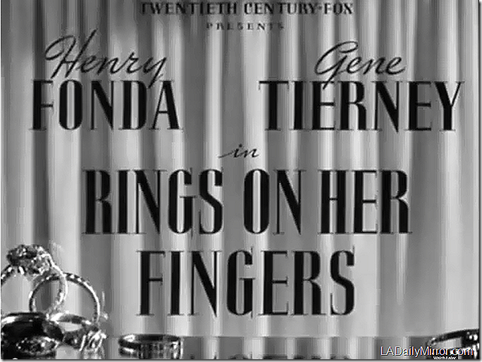 'Rings on Her Fingers'