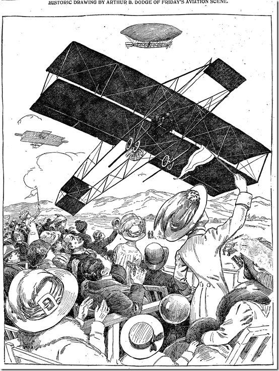 Jan. 16, 1910, Aviation Meet