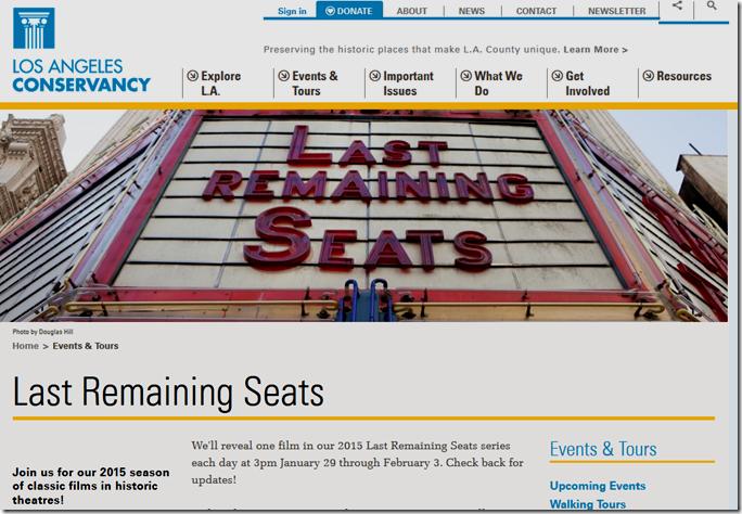Last Remaining Seats
