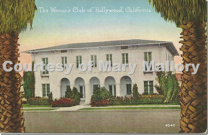 Woman's Club Postcard