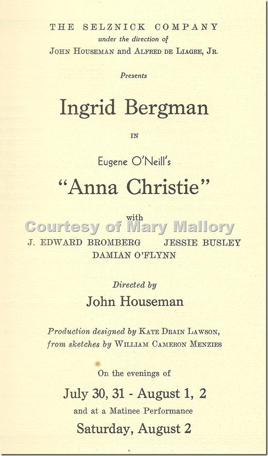 Lobero Bergman Anna Christie