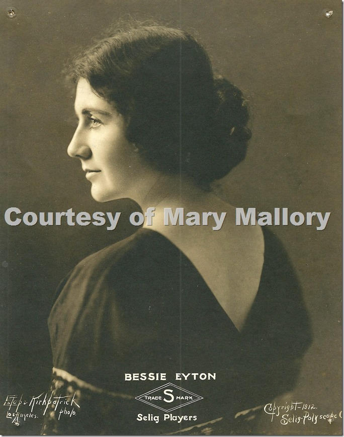 Bessie Eyton by Estep for Selig 1912
