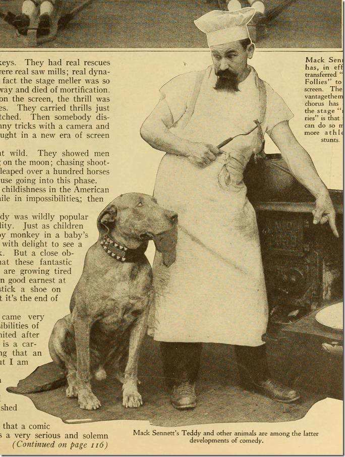 Teddy, Mack Sennett star