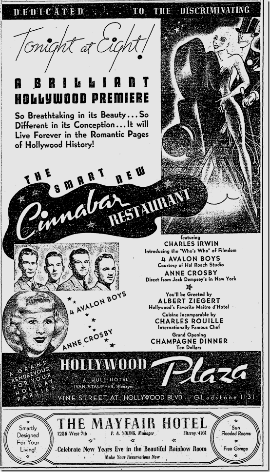 Dec. 17, 1936, the Cinnabar