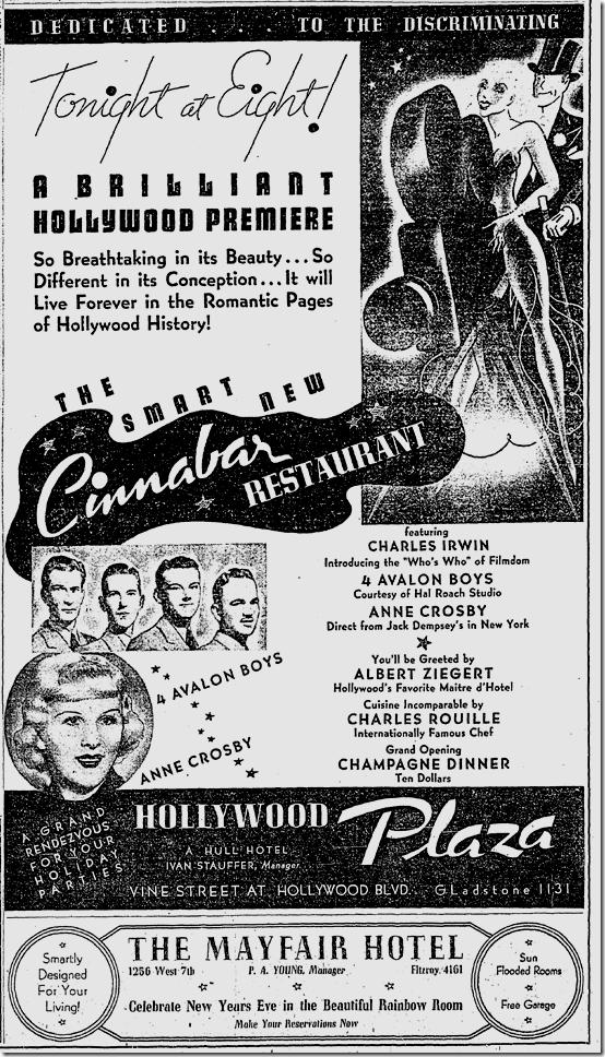 Dec. 17, 1936, the Cinnabar