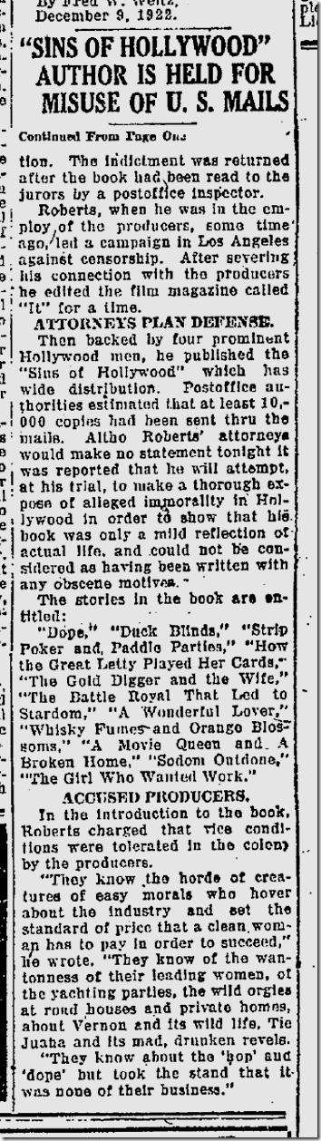 Dec. 10, 1922, Des Moines Capital