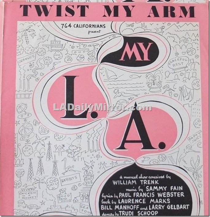 My L.A. Sheet Music