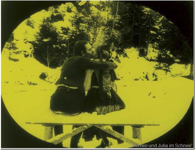'Romeo und Julia im Schnee'