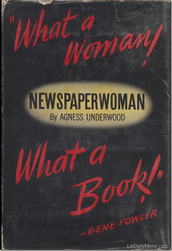 Newspaperwoman Cover