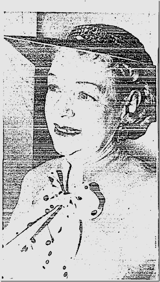 April 24, 1958, Hazel Glab