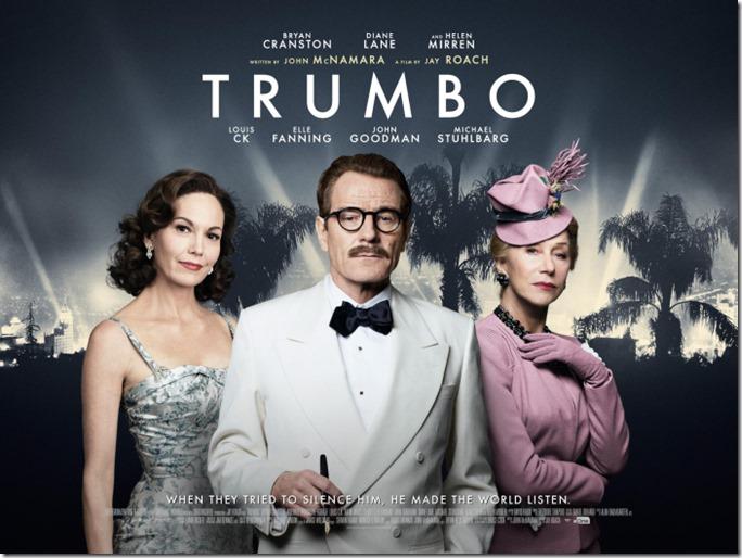 Trumbo, Bryan Cranston, Helen Mirren, Diane Lane