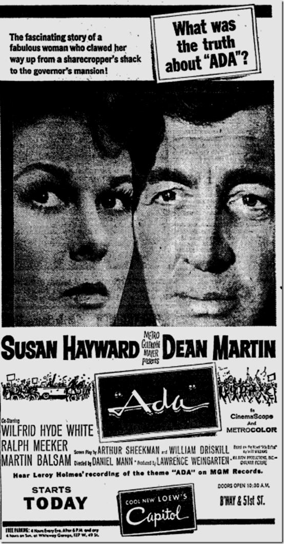Aug. 25, 1961, Ada