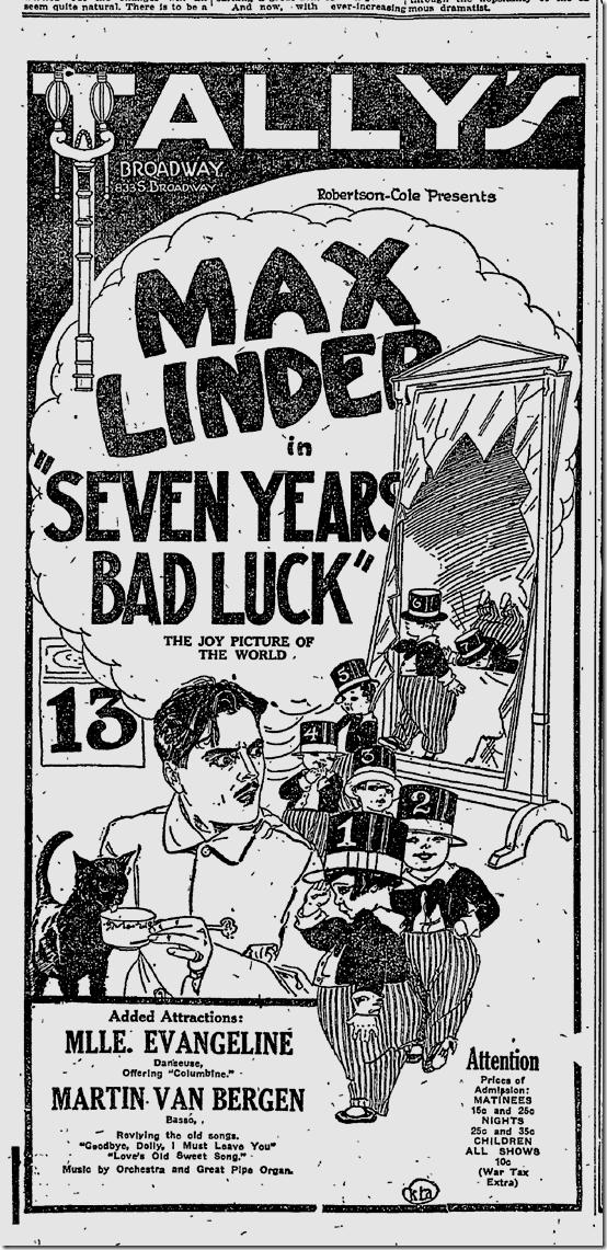 June 12, 1921, Los Angeles Times
