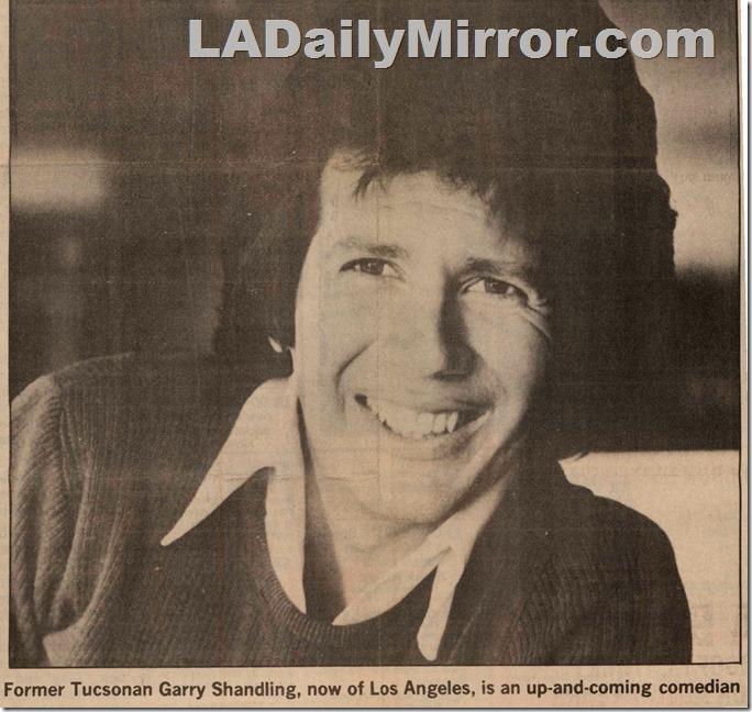 Garry Shandling, 1981