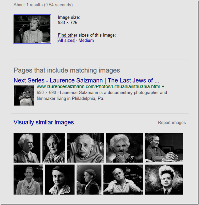 March 1, 2016, Google Image Search