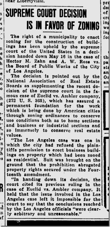 Amarilo Sunday News and Globe, May 29, 1927,