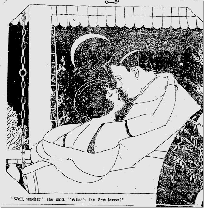 Petting, Nov. 5, 1925