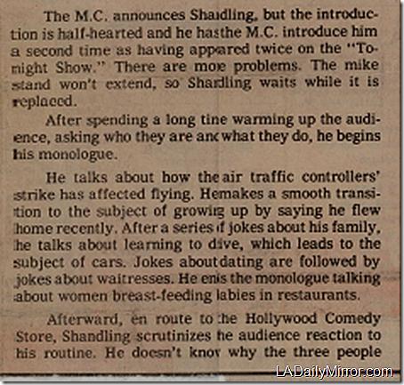 Nov. 24, 1981, Garry Shandling